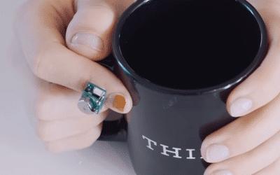 Fingernail sensor